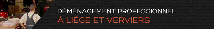 Déménagement professionnel à Liège et Verviers